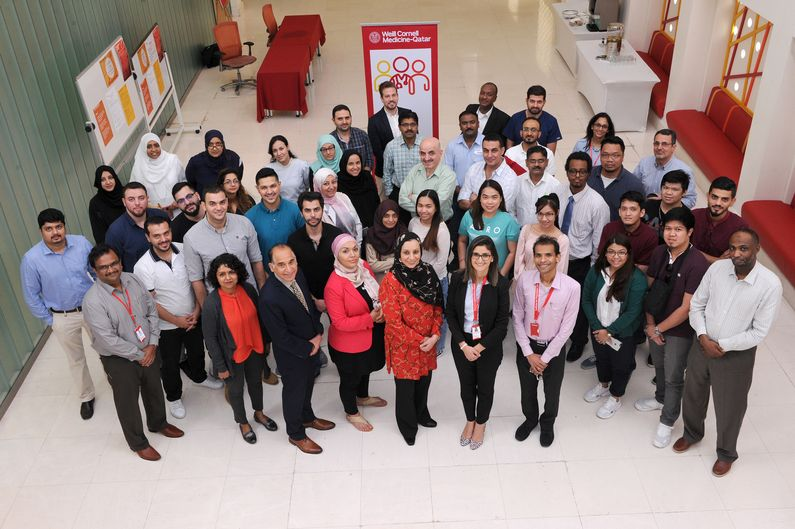 Physicians, dentists, pharmacists, nurses and other healthcare professionals from institutions across Qatar attended a two-day workshop at WCM-Q to learn healthcare research skills.