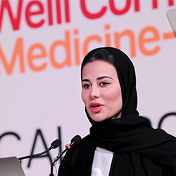 Dr. Sarah Al-Khawaja delivered the keynote speech.