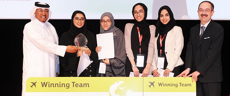 Students win trip to US after attending inspirational conference