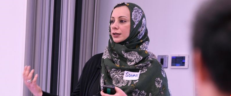 Dr. Sohaila Cheema of WCM-Q explaining the key skills required to conduct high-quality healthcare research.