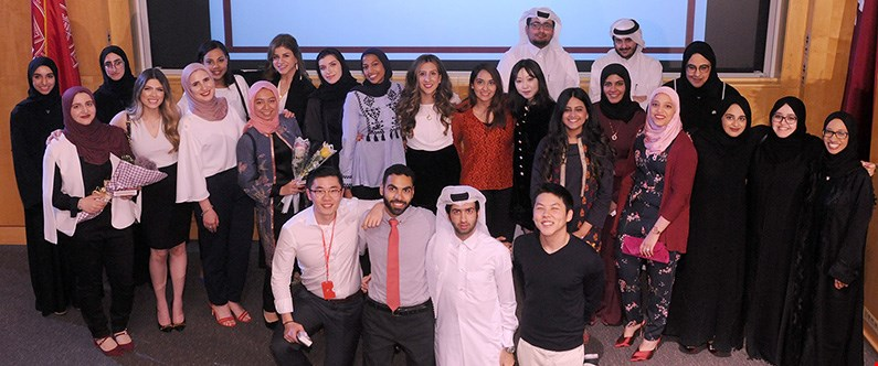 This year's graduating class includes 13 Qatari nationals.