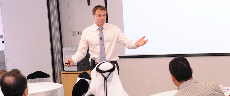 The workshop was directed by Dr. Liam Fernyhough, assistant professor of medicine at WCM-Q.