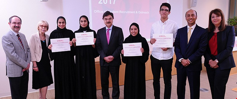 Qatar students inspired to follow a career in medicine