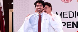 WCM-Q welcomes new medical students with White Coat Ceremony