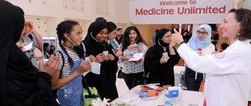 Middle and high school students flock to WCM-Q Medicine Unlimited event