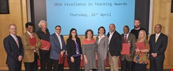 The annual awards honor the very best of teaching at WCM-Q