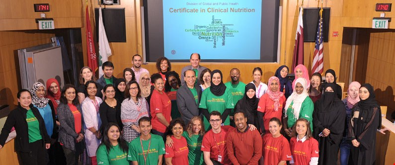 All attendees who completed the course were awarded the Certificate in Clinical Nutrition.