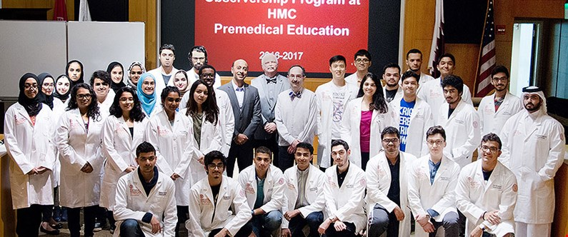 Students experience the life of a doctor