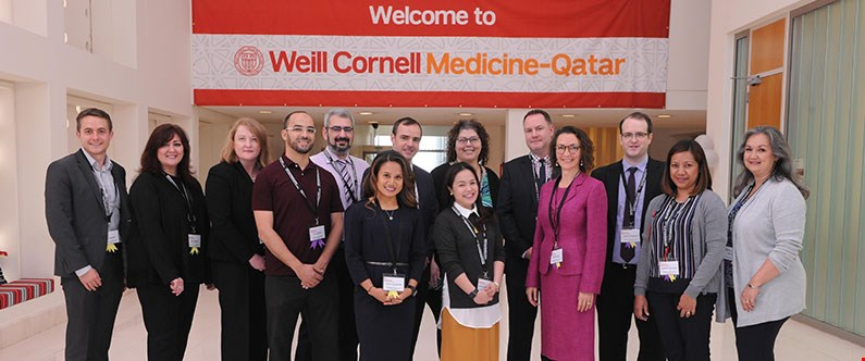 The symposium, led by WCM-Q, featured contributions from Hamad Medical Corporation, College of the North Atlantic - Qatar, Sidra Medical and Research Center, Qatar University College of Pharmacy, University of Calgary in Qatar, the Center for Medical Simulation in Boston, and WCM-Q.