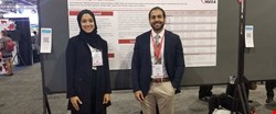 A doctor and student at Weill Cornell Medicine – Qatar have received a prestigious award for their research into the relationship between calcium deposits in coronary arteries and high blood pressure.