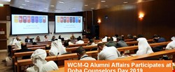 WCM-Q Alumni Affairs Participates in Doha Counselors Day